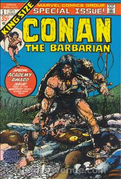 Marvel Comics' King-Sized CONAN THE BARBARIAN #1, 1973