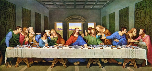 Hey, Jesus, you gonna finish that?