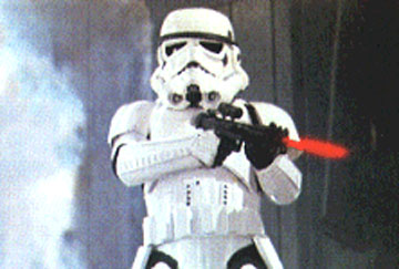 ONLY IMPERIAL STORMTROOPERS ARE THIS (IM)PRECISE