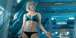 "Gee, nothing says ""Star Trek"" like a gratuitous underwear shot."
