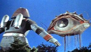 Giant Robot takes on the dreaded Opticorn!