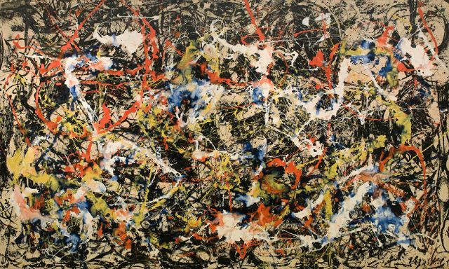 Convergence, 1952. Image property of the Albright-Knox Art Gallery, Buffalo, NY.